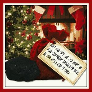 holidaymarketingstrategy dontendupwithalumpofcoal