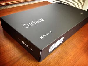 Microsoft Surface box