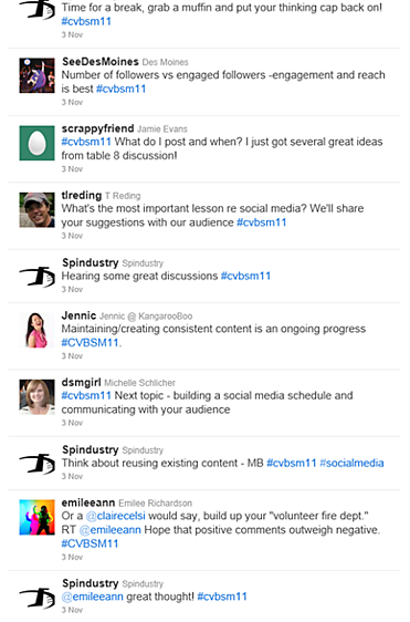 Live Twitter Feed